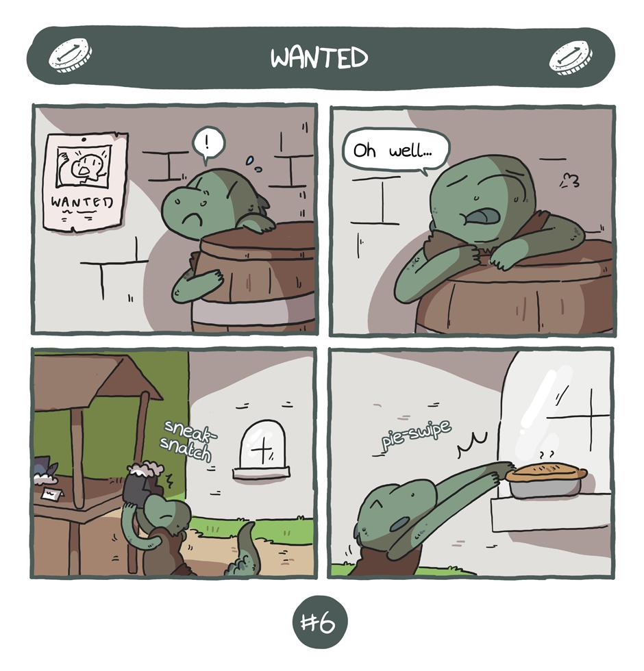 World Map - The Thief #6 [comic]