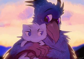 Bird Cuddles