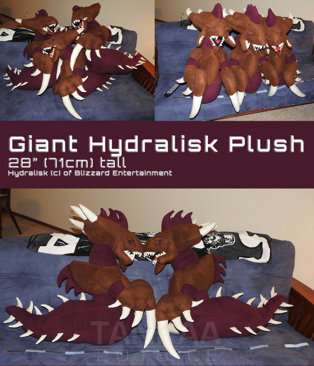 Giant Hydralisk Plush