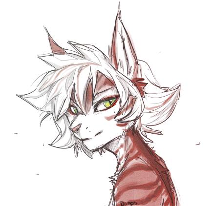 Kitty bust