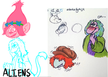 Fraggle Rock & Poppy Doodles