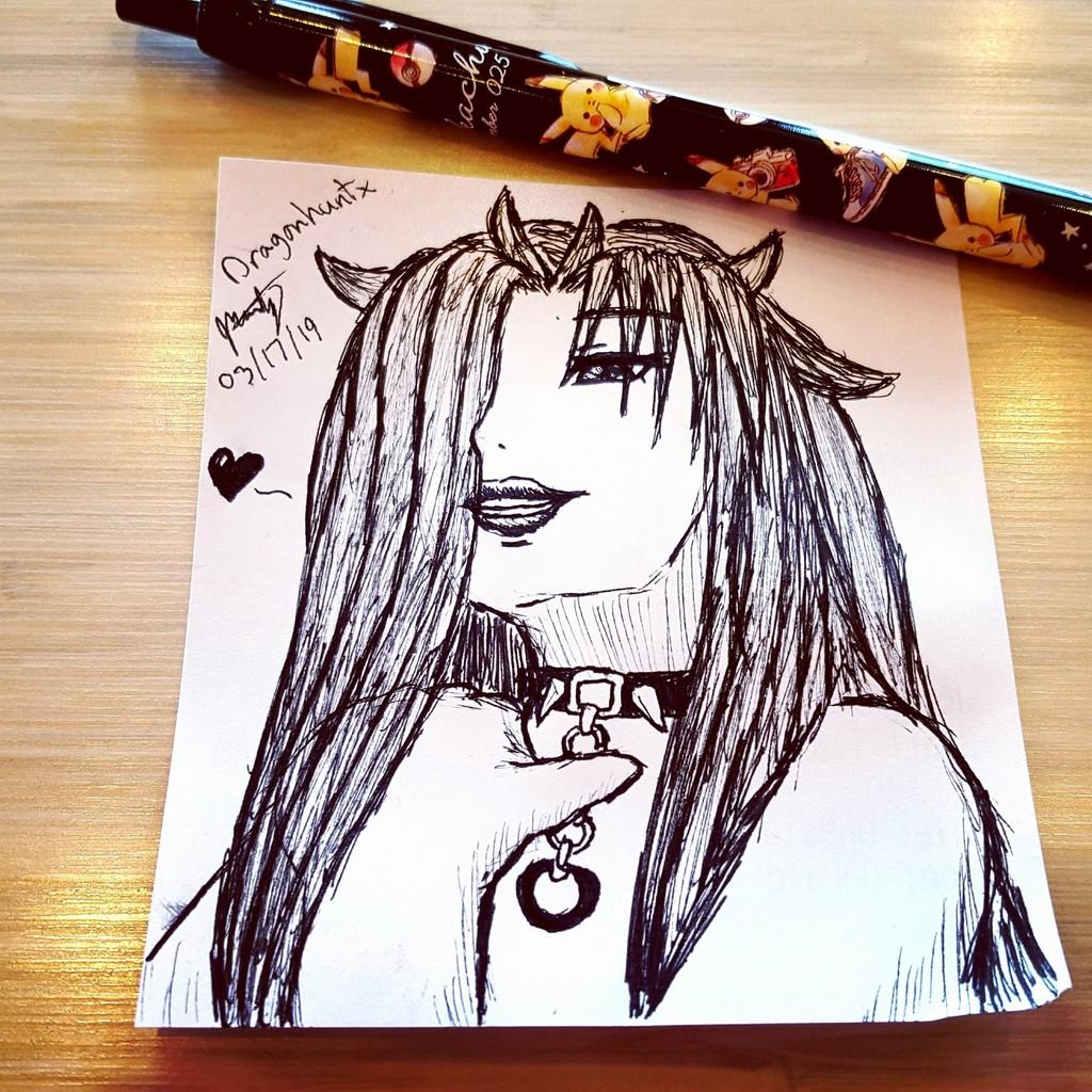 Work Doodles - 'How Cute'