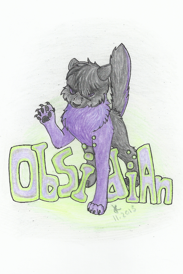 Traditional Badge - Obsidian