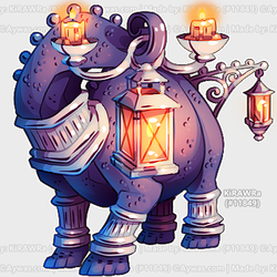 Aywas RCC: Lamp Dino