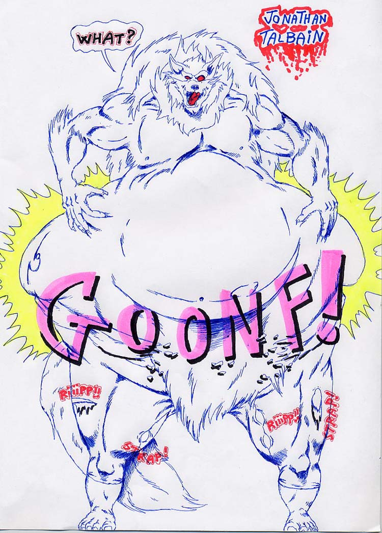 Fat Warewolf