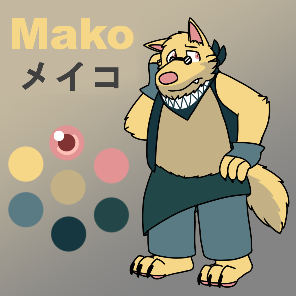 Mako (Theif) Reference Sheet