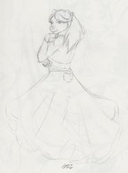 Elegant Ms Cotton by Syrae Universe