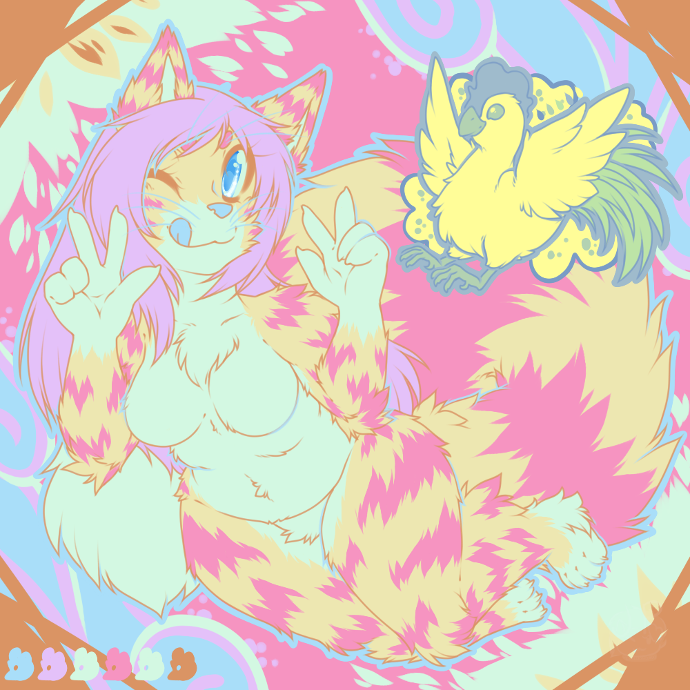 .:Technicolor Fur and Feathers:.