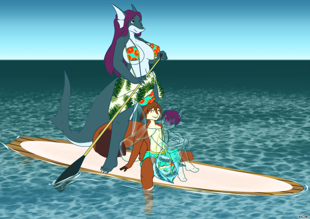 Paddleboardin' (Empty Izzy)