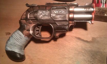 "Nerf Doublestrike ""Boot Strap"""