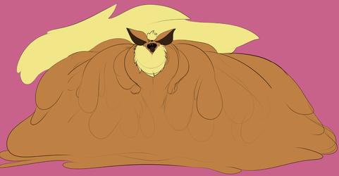 Large Caramel [Art by ZeAlieC]