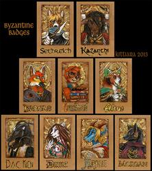 Byzantine Badges - Autumn 2013