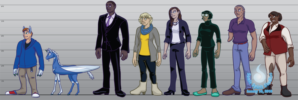 The New Normal Character Lineup