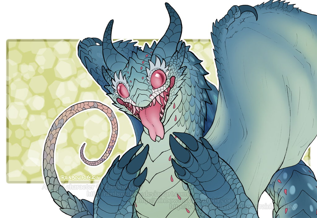 Featured image: Dragon Blep (SPEEDPAINT)