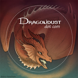 Dragondust sticker