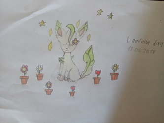 Leafeon day