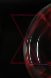 Black red estetique