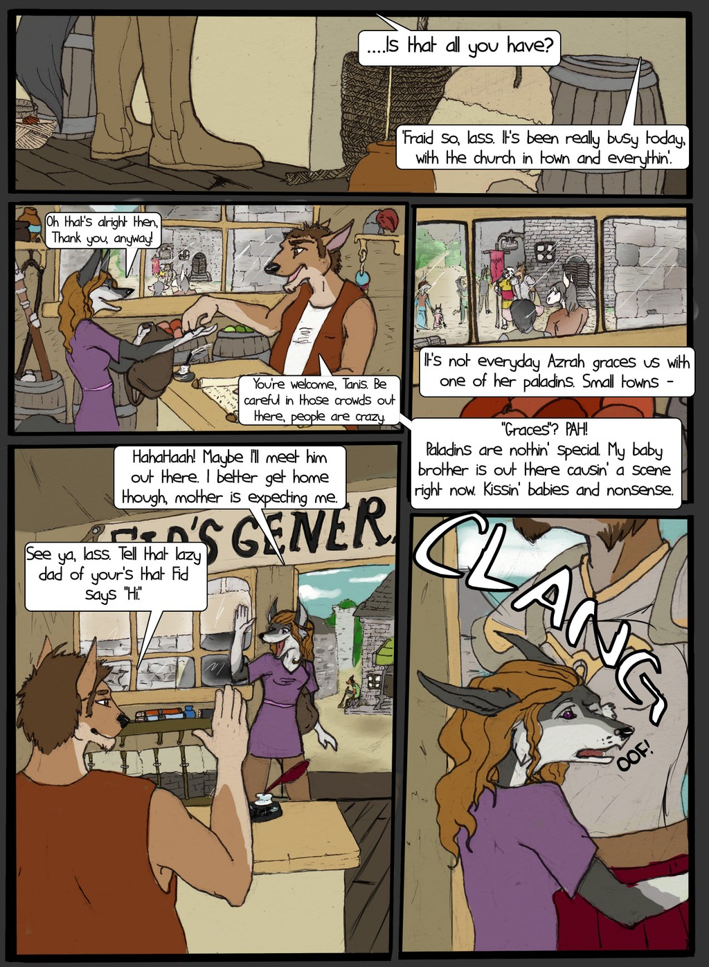 CHANGELING -  Chapter 1 Page 1