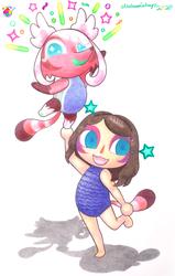 Mairead May (Animal Crossing Edition) (Fan-Art)