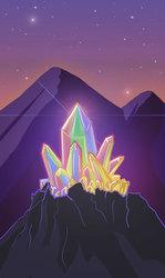 Ace of Crystals Tarot Card