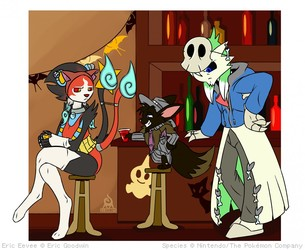 Halloween Shenanigans by Kompy
