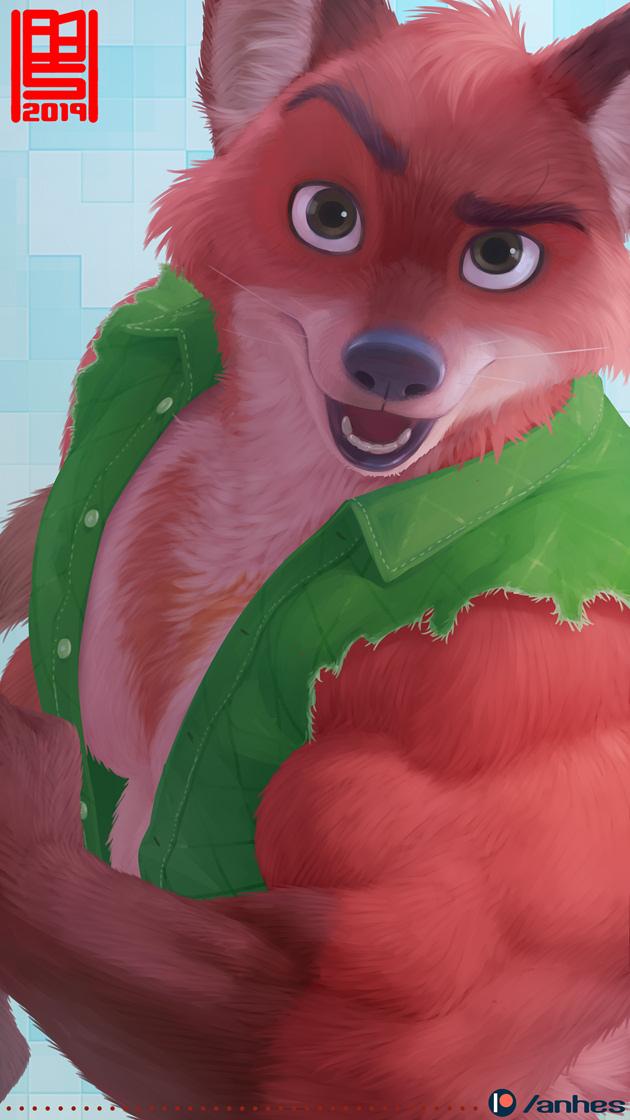 Hunky fox (Kody)