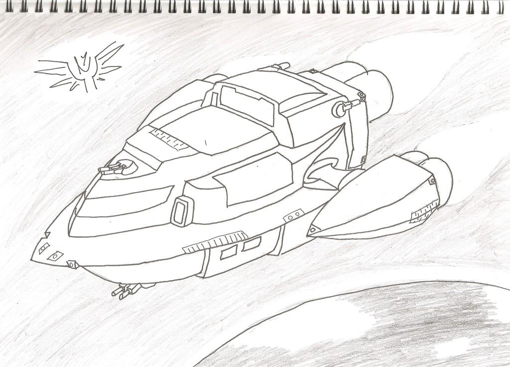 Starship Wyvern