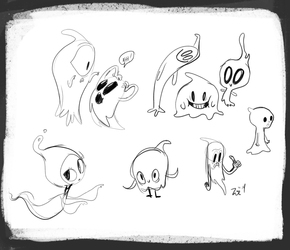 O Look Ghosts!
