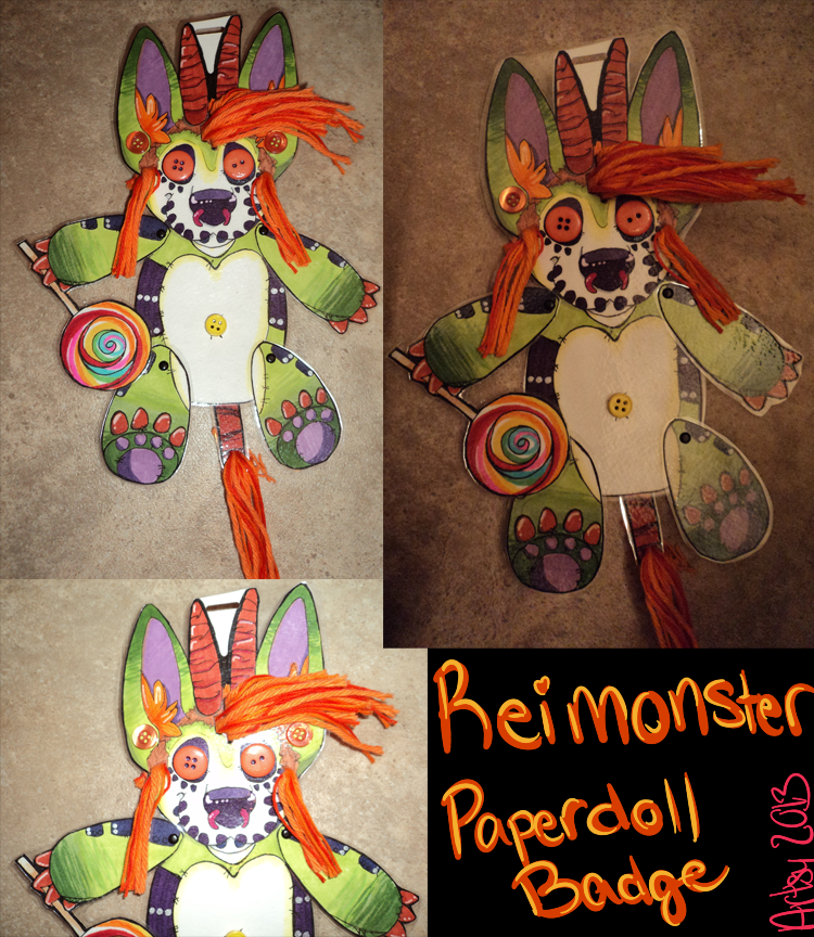 Reimonster Paperdoll Finished