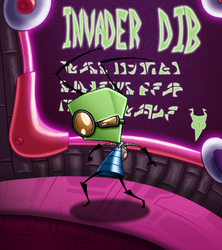 Invader Dib Cover