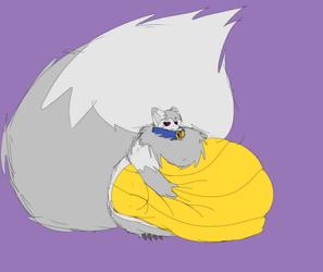 Fat & Grumpy [Art by Masonc1]