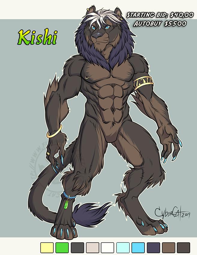 Adoptable Lion Kishi Starting Bid $40