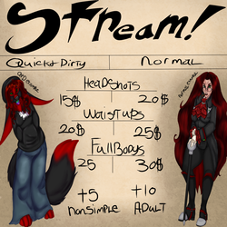 (~ NOW STREAMING ~) Coms open