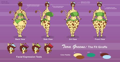 Tara Greens Reference Sheet