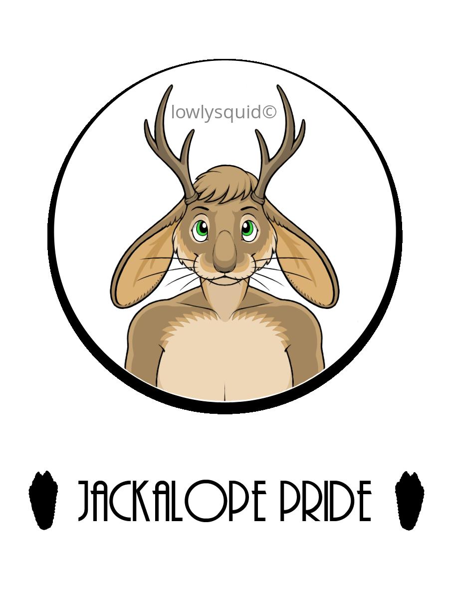 Jackalope Pride Badge =P