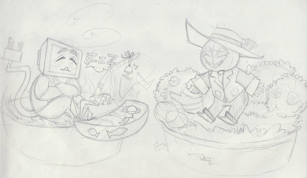 Fishing Vs. Gardening!