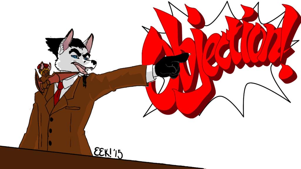Red V. Black: Ace Attorney