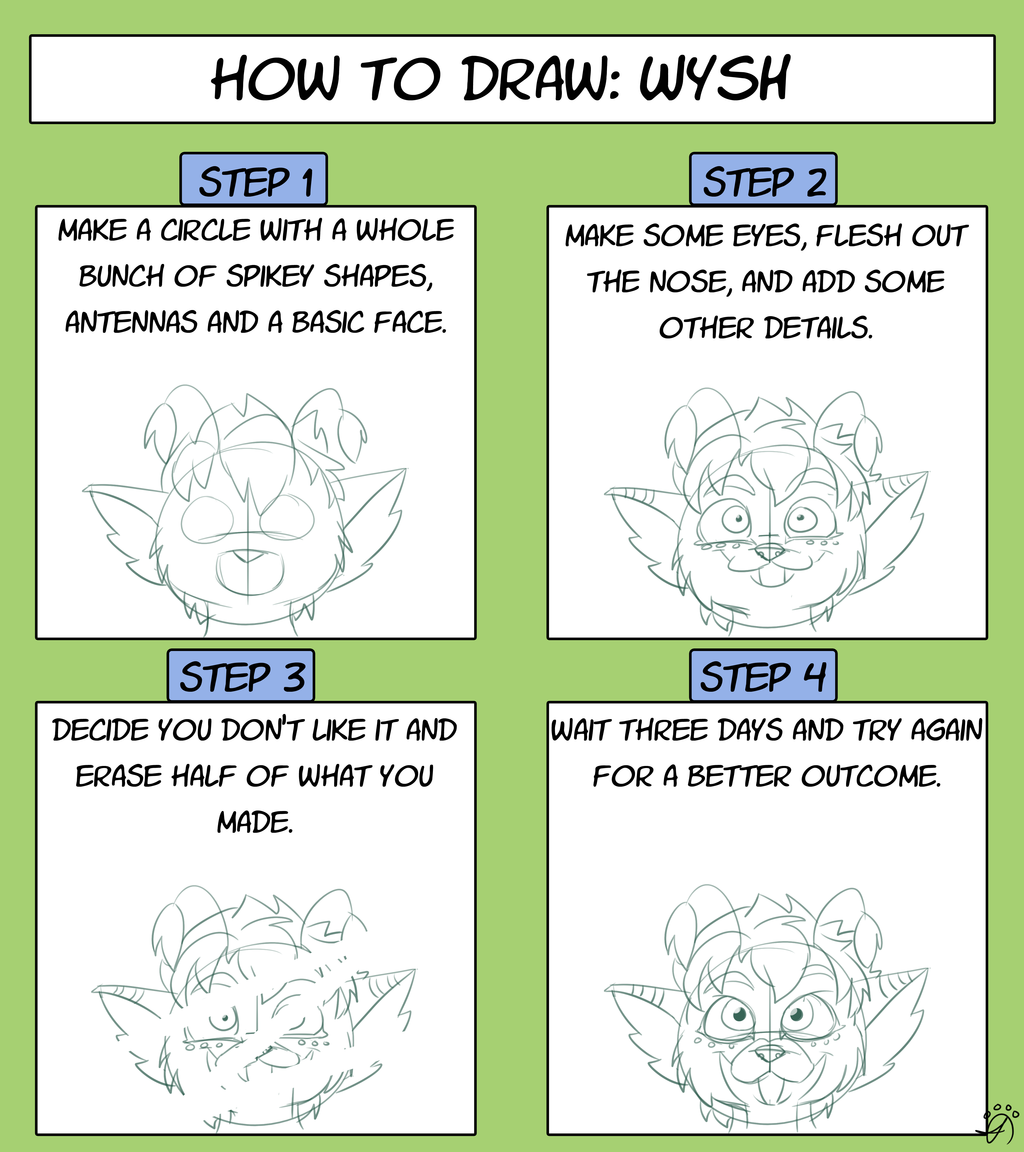 How to Draw: WYSH