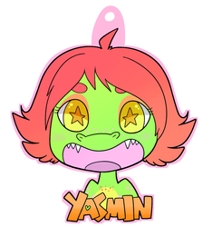 Yasmin badge