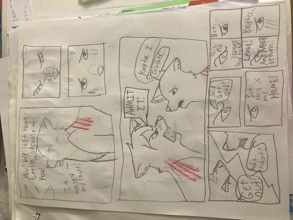 Conquerors page 1