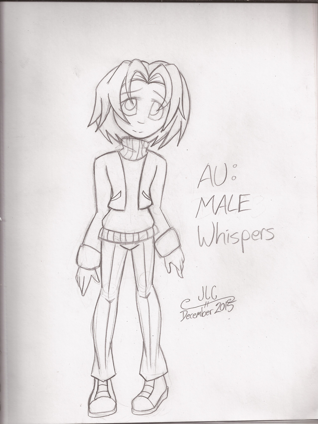 Character Drawcember Week 2 - AU Whispers