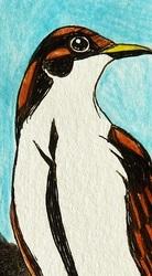 Minimalist Cuckoo Bookmark