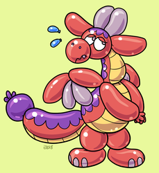Balloon Animal Toast by Percy