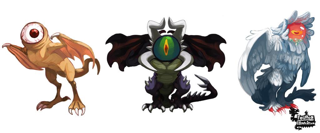 Most recent image: Eyeball Demons