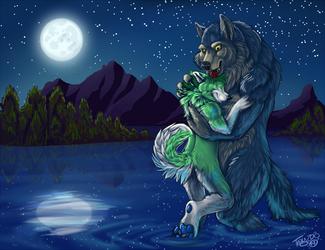 Moonlit Embrace