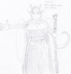 CR Concept art: My Mages outfit