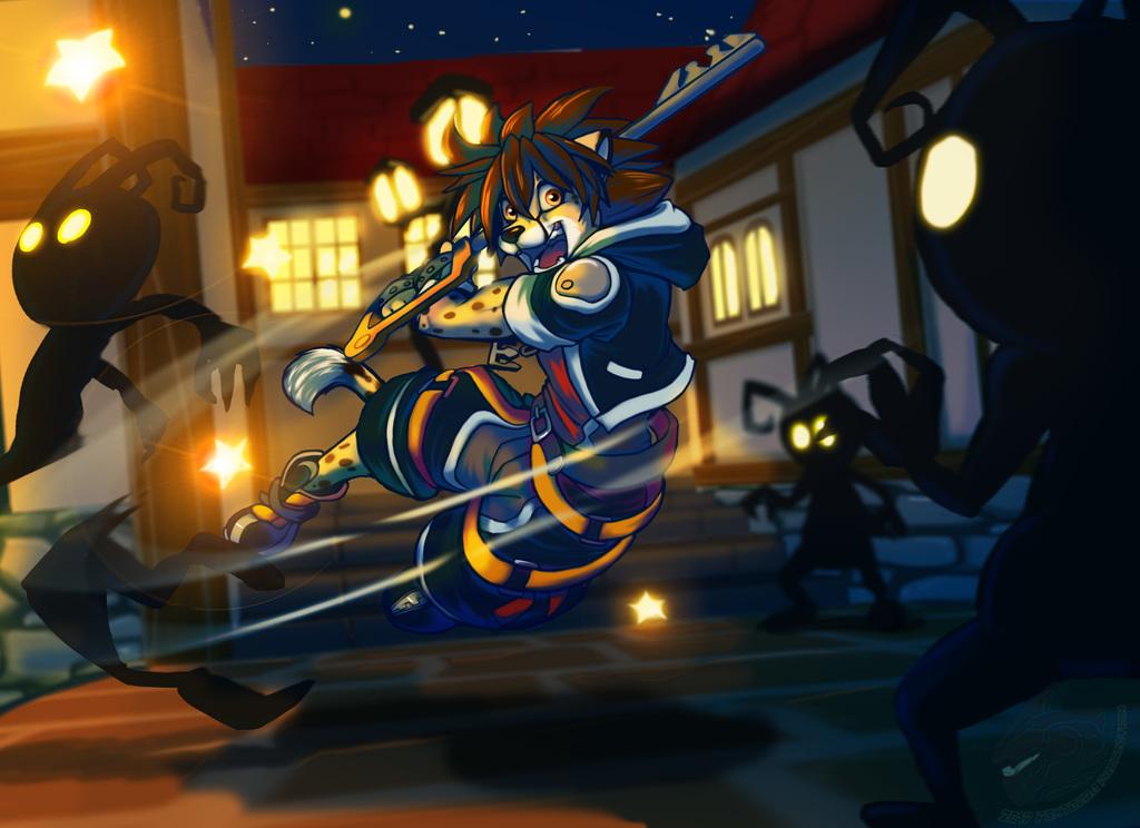 Blade On (Commission Art)