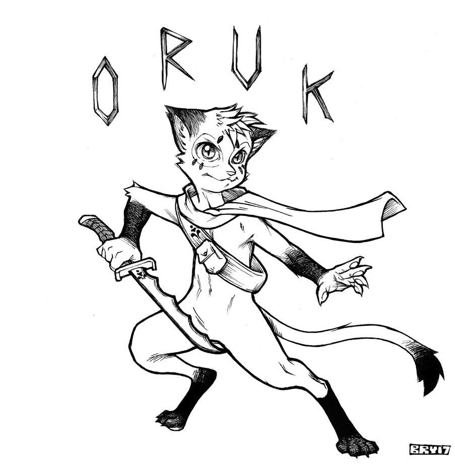 Oruk Commish BW