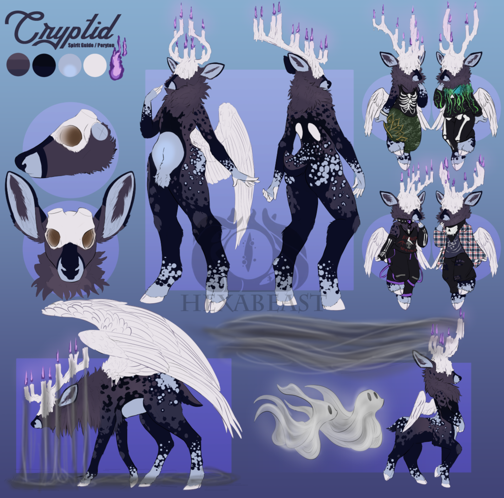 Most recent image: Cryptid Ref Sheet