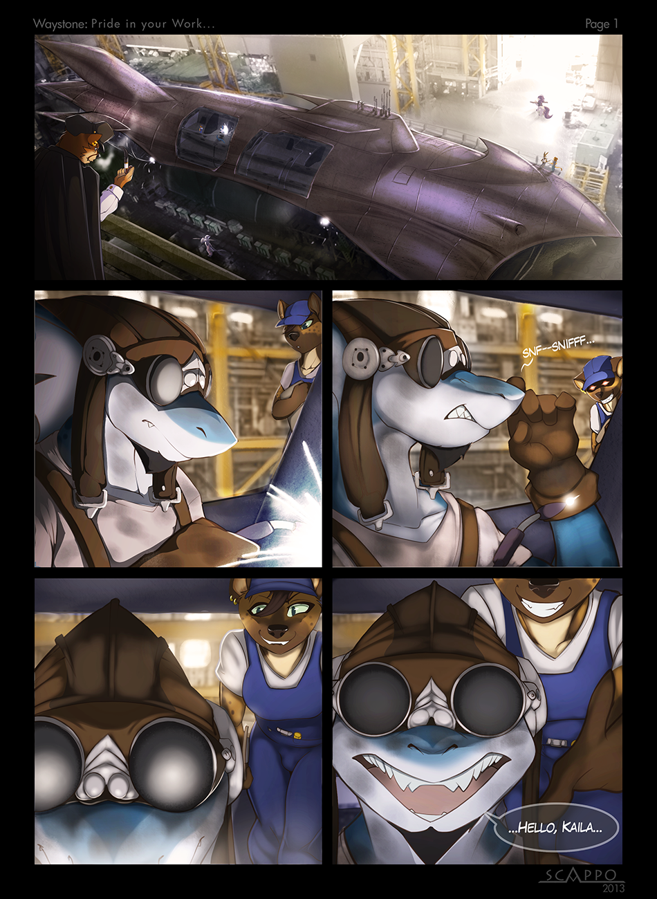 Pride in your Work: Page 1